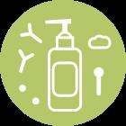 Natural cosmetics icon
